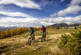 Mountainbiken in der Ferienregion Lungau